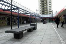 Herinrichting winkelcentrum de Mheen