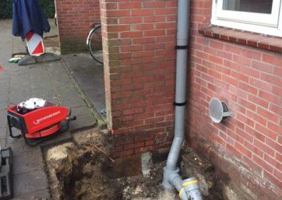 Asbestsanering en vervangen aansluitingen VVE Marchantstraat