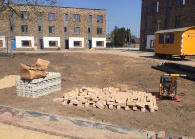 Aanleg bestrating project Molenhof